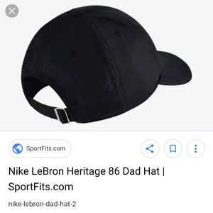 e4d351ef Nike Accessories | Lebron Heritage 86 Qs Adjustable Hat | Poshmark